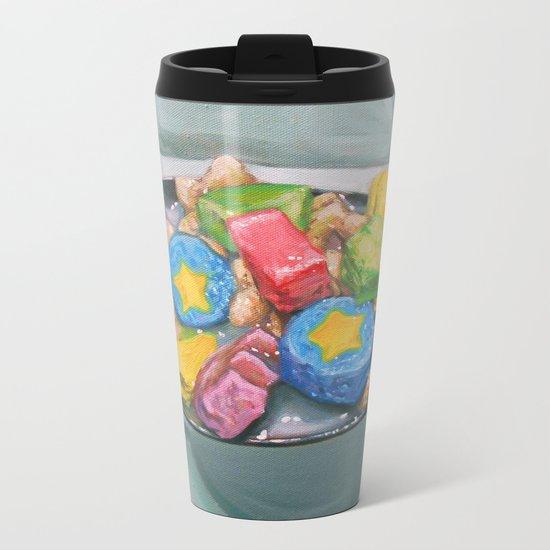 Marshmallow Cereal Metal Travel Mug