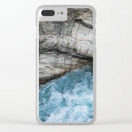 Taroko Textures Clear iPhone Case