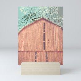 Red Barn Mini Art Print