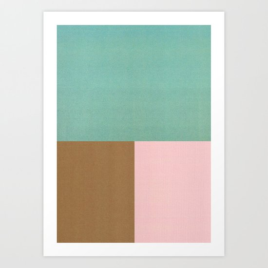Seaside Sorbet Art Print