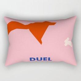 Don't Fuck with Nature: Duel (Season 1, Episode 2) Rectangular Pillow