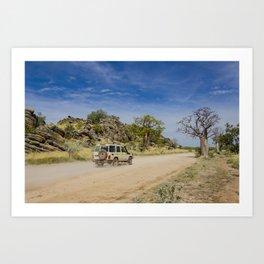 Leopold Downs Road Art Print
