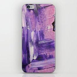 Purple Mess iPhone Skin