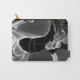 Metamorphosis Invert #1 Abstract Art Line Carry-All Pouch