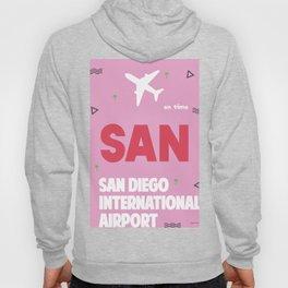 SAN San Diego airport code 1 Hoody