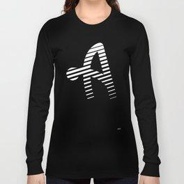 ALPHABET STREET A Alfa Long Sleeve T-shirt