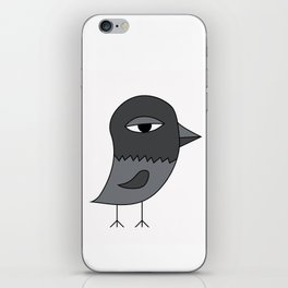 Big Eye Pigeon iPhone Skin