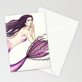 Gracie the Mermaid Stationery Cards