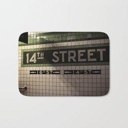 14th Street Station Bath Mat