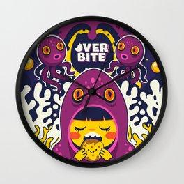 Overbite: Octofizz Wall Clock