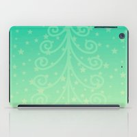 christmas tree iPad Cases featuring (Christmas)tree by Mr and Mrs Quirynen