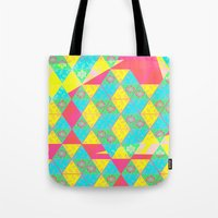 transparent Tote Bags featuring Transparent Triangle by Lillian Cassidy