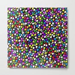 Bubble GUM Colorful Balls Metal Print