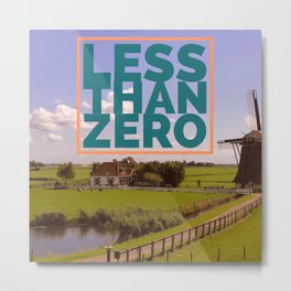 Less Than Zero poster Metal Print