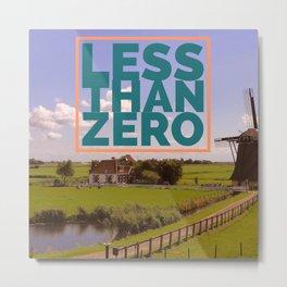 Less Than Zero poster Metal Print