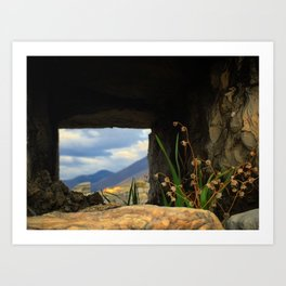 Castello dell'Imperatore Art Print