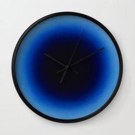 Fabrizius2 - Untitled (Spot Black in Ultramarine) Wall Clock