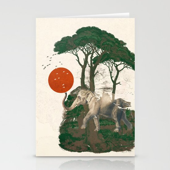 Savanna Sunrise Stationery Cards