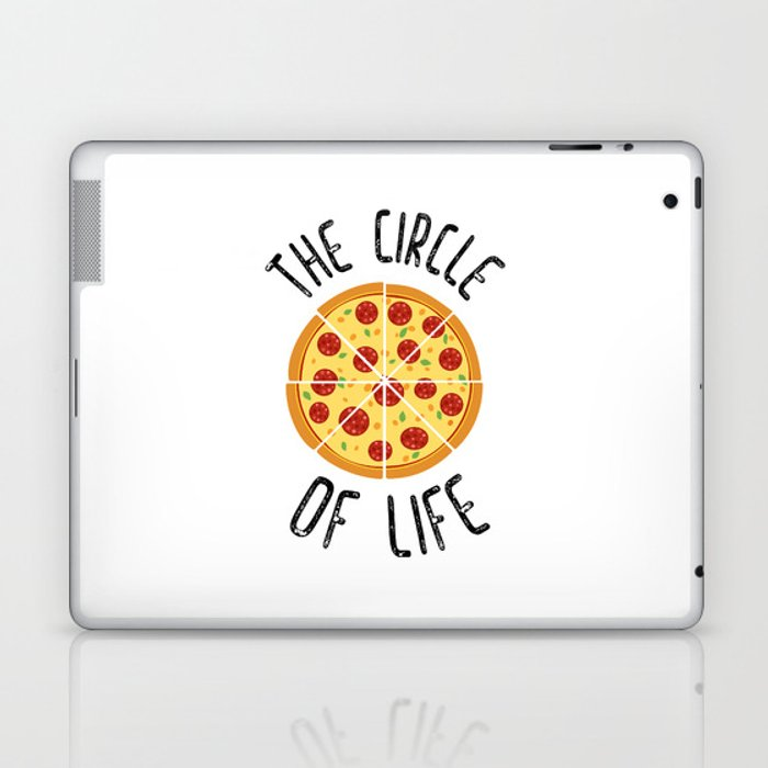 The Circle Of Life Funny Quote Laptop Ipad Skin By Envyart Society6