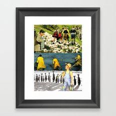 You Don't Have To Follow The Crowd Framed Art Print