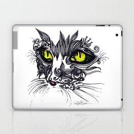 Intense Cat Laptop & iPad Skin