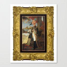 Framed Tyrant Tupuxuara Canvas Print