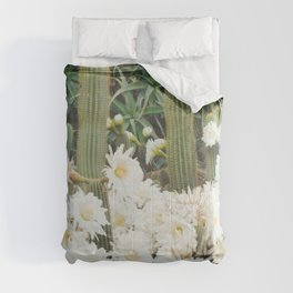 Cactus and Flowers Comforters