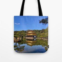 Kinkaku-ji, Golden Pavilion Temple Tote Bag