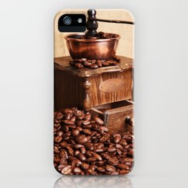 coffee grinder 2 iPhone Case