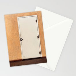Doors of Los Angeles - Orange and White Stationery Cards
