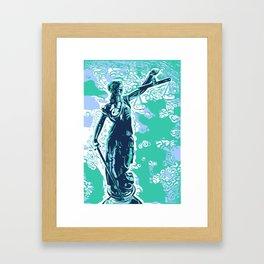 Iustitia Framed Art Print
