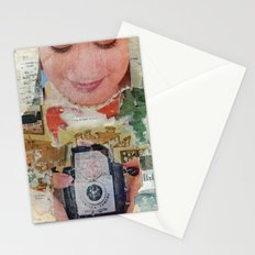 Madonna with Camera Stationery Cards