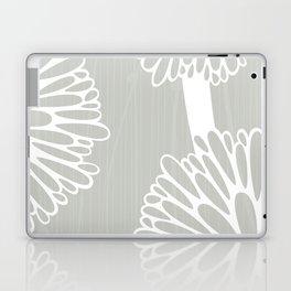 Pom Poms in Grey by Friztin Laptop & iPad Skin