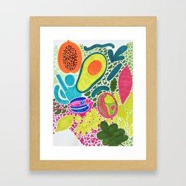 Richness of nature Framed Art Print