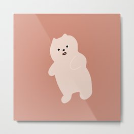 soft bear / warm tones Metal Print
