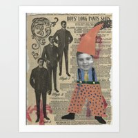 suits Art Prints featuring Suits by Marnie
