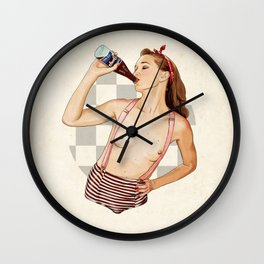 Miss Mississippi Wall Clock