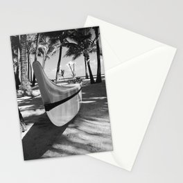Kuau Hawaii Outrigger Canoe Paia Maui Hawaii Stationery Cards