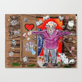 mom's welcoming arms Canvas Print