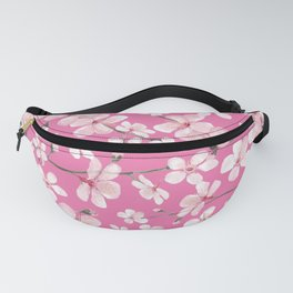 Cherry blossom pink spring bloom Fanny Pack