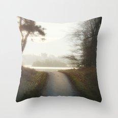 Ireland Path Throw Pillow