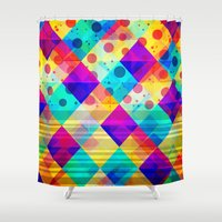 circus Shower Curtains featuring Circus by Sandra Arduini