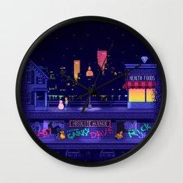 A Blob and his Boy Wall Clock
