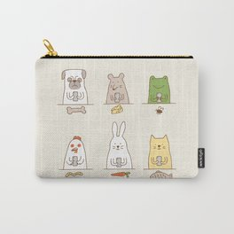 animals on social media Carry-All Pouch