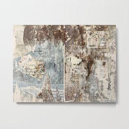 Texture from Italy Metal Print