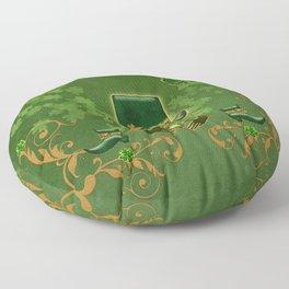 Happy st. patricks day Floor Pillow