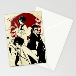 Samurai champloo Stationery Cards