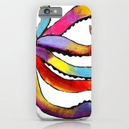 DIP DYED OCTOPUS iPhone Case