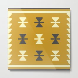 Oden in Gold Metal Print