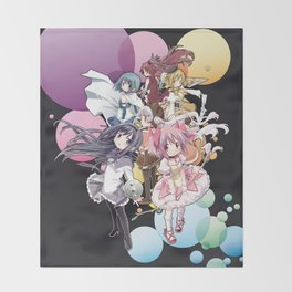 Puella Magi Madoka Magica - Only You Throw Blanket